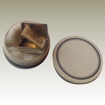 Miniature silver Vinaigrette for fashion doll 1864