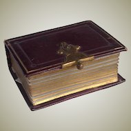 Miniature 19thC  photo album with all photos