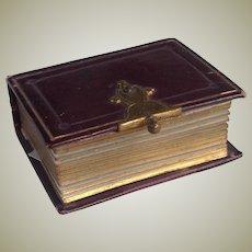 Miniature 19thC  photo album with all photos