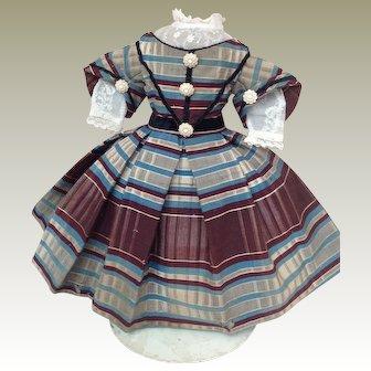 Fabulous original 1860s Enfantine dress for Huret