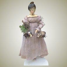 ON HOLD   Beautiful all original Grodnertal circa 1820