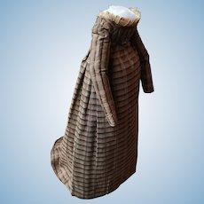 Regency silk dress for Grodnertal