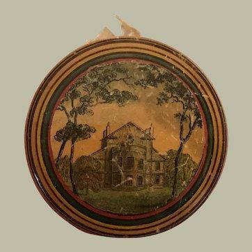 Early 19thC Tunbridge ware pin cushion