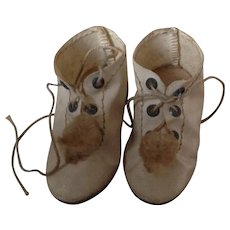 Original 19thC dolls shoes