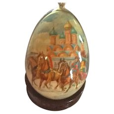 Russian Lacquered  Egg