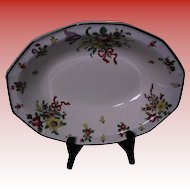 Royal Doulton Old Leeds Sprays  Oval Vegetable Dish