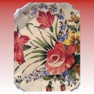 Vintage Ceramic Novo Italian Plate