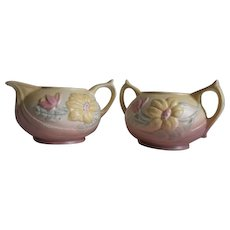 Hull Art Pottery In Magnolia Matte
