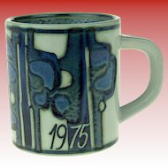 Large Royal Copenhagen Annual Mug 1975