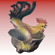 Maddux Fighting Rooster Planter