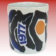 Royal Copenhagen 1977 Large Annual Mug
