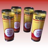 Wilson Tennis Ball Tumblers