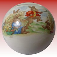 Royal Daulton Bunnykins Money Ball