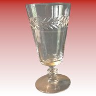 Vintage Crystal  Sherry/Juice glasses.