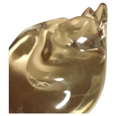 Baccarat Crystal Sleeping Cat - Red Tag Sale Item
