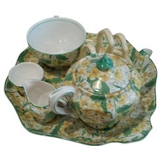 Vintage Chintz Breakfast Tea Set. Made in England