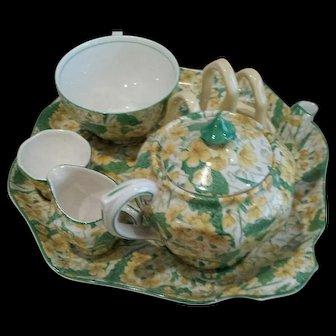 Vintage Chintz Breakfast Tea Set. Made in England