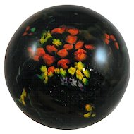 Shawn Messenger Contemporary Studio Art Glass Paperweight