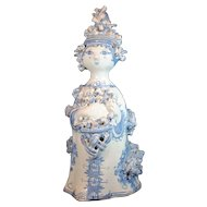 Bjorn Wiinblad Danish Studio Art Pottery Figurine of a Lady 1967