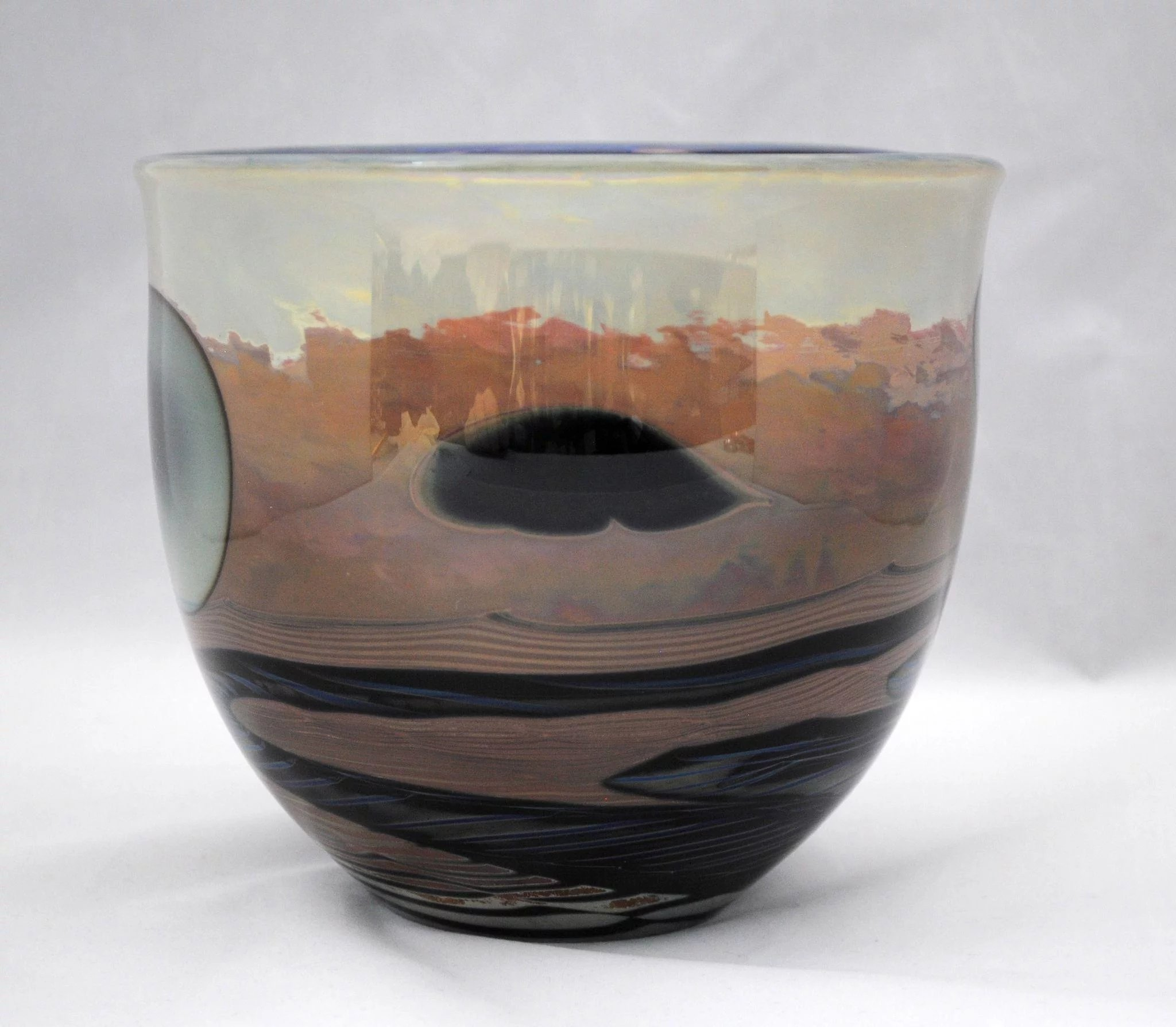 John lewis contemporary art glass moonscape planet bowl shape vase john lewis contemporary art glass moonscape planet bowl shape vase click to expand reviewsmspy