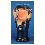 Moorcroft Pomegranate British Art Pottery 7.25 inch Vase