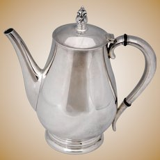 Royal Danish International Sterling Silver Teapot or Coffee Pot