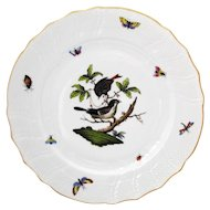 Herend Rothschild Bird 10.25 inch Dinner Plate #1