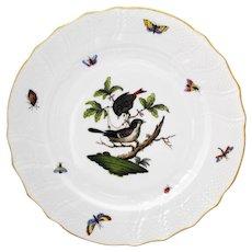 Herend Rothschild Bird 10.25 inch Dinner Plate #1