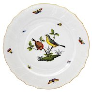 Herend Rothschild Bird 10.25 inch Dinner Plate #3