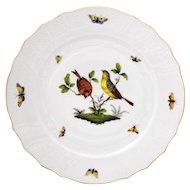 Herend Rothschild Bird 10.25 inch Dinner Plate #4