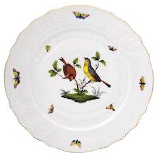 Herend Rothschild Bird 10.25 inch Dinner Plate #4