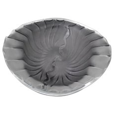 Lalique Nancy Cigar Cigarette Ashtray Bowl