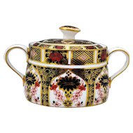 Royal Crown Derby Old Imari 1128 Sugar Bowl