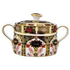 Royal Crown Derby Old Imari 1128 Sugar Bowl