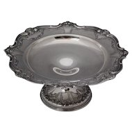 Gorham Chantilly Sterling Silver Large 10.5 inch Compote Tazza