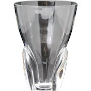 Steuben  8 inch Crystal Vase George Thompson #8056 1954