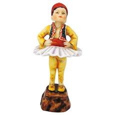 Royal Worcester Greece Figurine Children of the World Series # 3069 F. G. Doughty