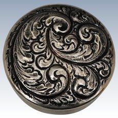 Gorham Sterling Silver Trinket or Pill Box