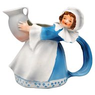 Royal Bayreuth Milk Maid Creamer Pitcher
