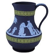 Wedgwood Tri Three Color Jasperware Pitcher