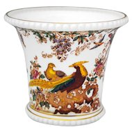Royal Crown Derby Olde Avesbury Cache Pot Jardiniere Planter