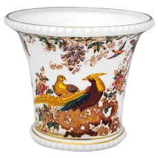 Royal Crown Derby Olde Avesbury Cache Pot Jardiniere Planter