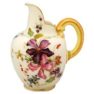 Royal Worcester Flat Back Creamer Pitcher or Ewer