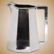 Kalo Hand Hammered Arts & Crafts Sterling Silver Water Pitcher