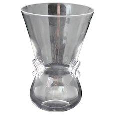 Steuben Crystal Signet Vase 8002 Designed by David Hills