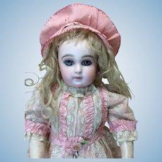 Early Pink Silk Bonnet
