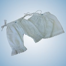 Matching French Antique Slip & Pantaloons