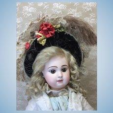 Beautiful Ribbonwork & Velvet Bonnet