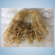 """6 1/2"""" Mohair Made in France Wig"""