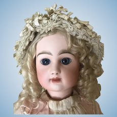 Antique French Silk Bonnet for Doll
